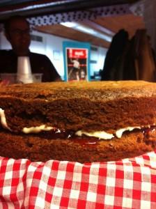 Irene Dunne's Chocolate Vinegar Cake