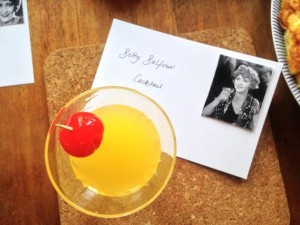 Betty Balfour Cocktail - a big hit!
