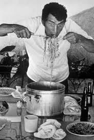 dean martin eating spaghetti