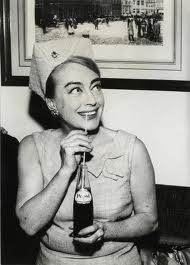 joan crawford with pepsi