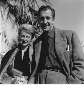 Mary and Vincent Price