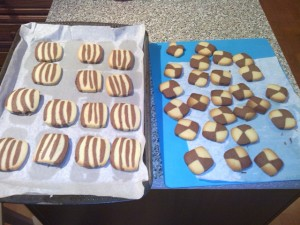 Vincent Price's Brown and White Cookies