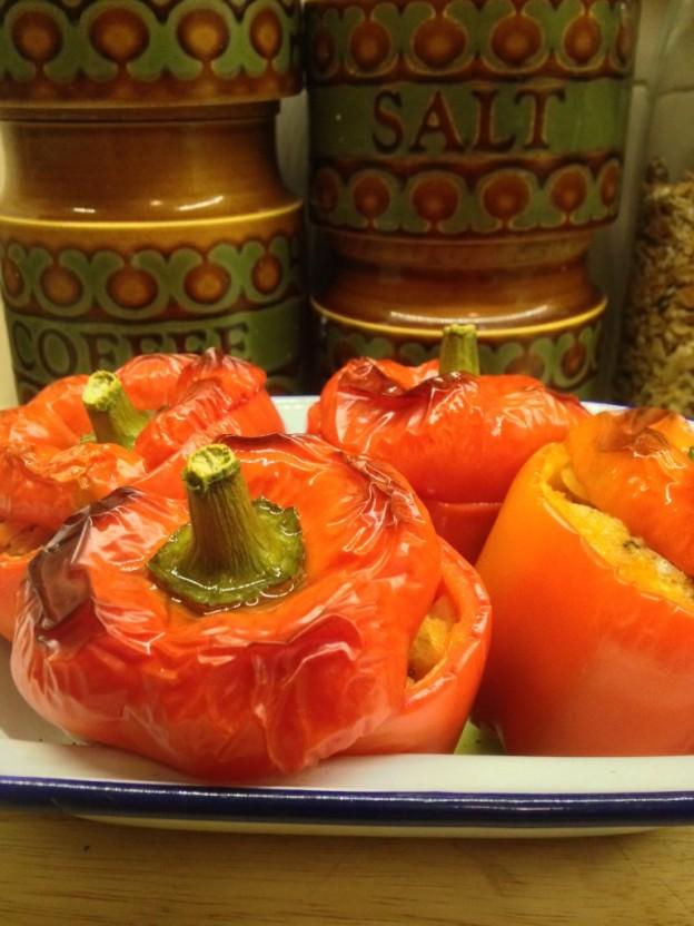 Shera Danese's Stuffed Italian Peppers