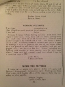 Jocko Marx Herring Potatoes